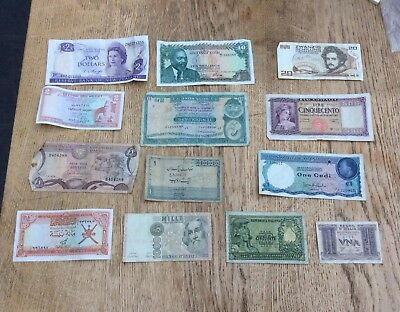 Selection Of Banknotes