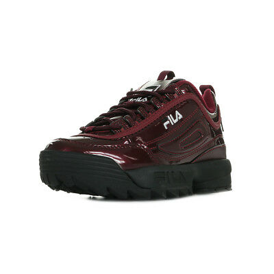 M Disruptor Baskets Fila Femme Low Wn's Chaussures Taille Marsala w0PZN8knOX
