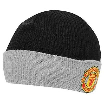 a51cc9605eb Nike Manchester United F.C. Reversible Beanie Hat Child Unisex 591589 010 …