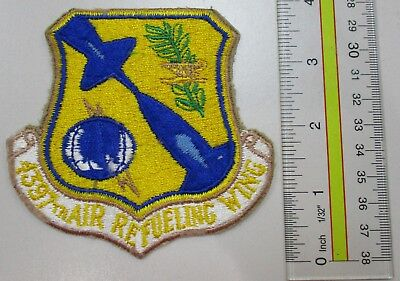 Usaf Military Patch Air Force 4397Th Air Refueling Wing Sac - Oldie