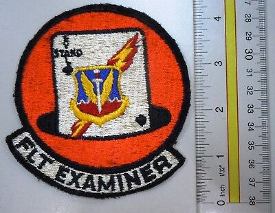 Usaf Military Patch Tac Tactical Air Command Flight Examiner