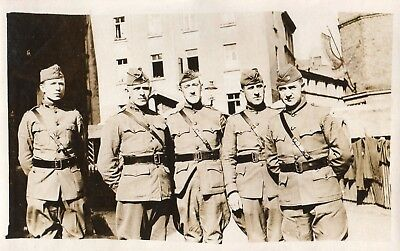 Photo USA Officier de la Cie E 301 Engineers à COBLENZ Deutschland 1914 1918 1WK