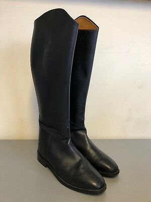 1022 Mens Long Leather Equi Comfort Riding Boots