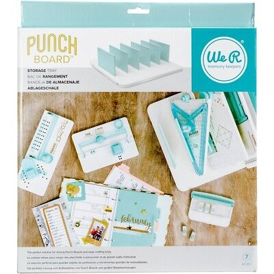 We R Memory Keepers Punch Board Storage-