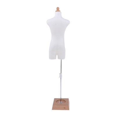 Adjustable Male Body Wood Mannequin Model Stand for BJD Dolls Display Holder