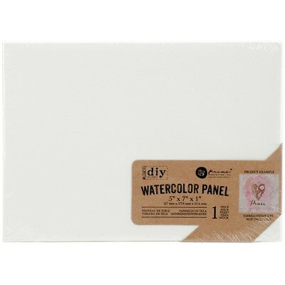 "Prima Diy Watercolor Canvas Panel-5""x7"""