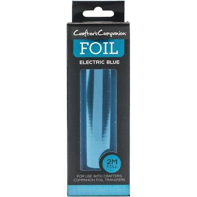 Crafter's Companion Foil 2m Roll-electric Blue