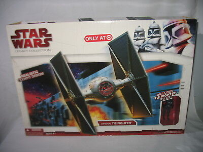 Hasbro Star Wars Legacy Collection Imperial Tie Fighter & Pilot Target 92777