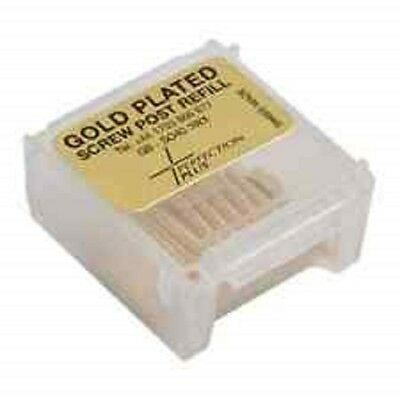 Screw Post Refill S4 Gold Plated  - 12 Post Refill