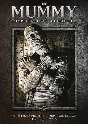 The Mummy: Complete Legacy Collection New DVD! Ships Fast!