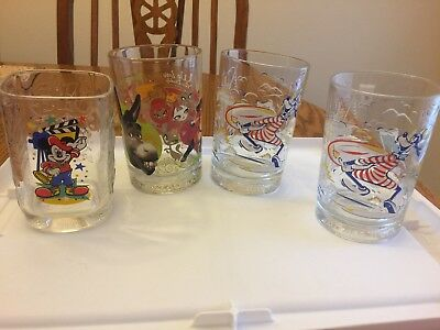 McDonald's collector glasses Disney Shrek
