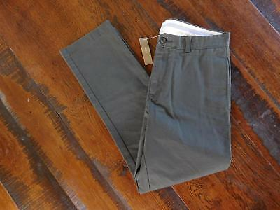 JCrew Essential Chinos Regular Fit 30W 32L smoky graphite Casual Pants