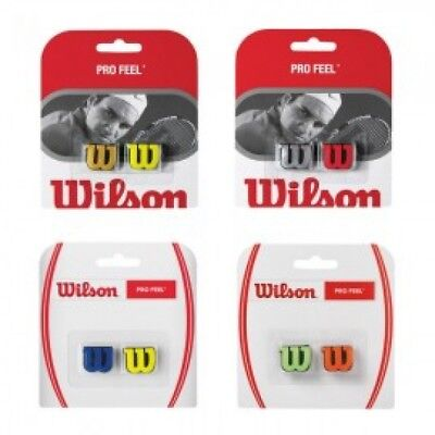 Wilson Pro Feel Vibration Dampeners - Choice Of Colours - Free P&P