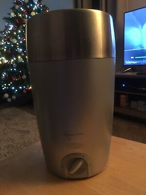 Breville Grey Silver Portable 7 Minute Wine Chiller Cooler Model WC15XL lastcall