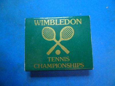 WIMBLETON TENNIS CHAMPIONSHIPS/Working Homes Railcare Centre Pocketbox Matches