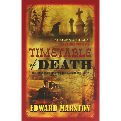 Timetable of Death by Edward Marston (Paperback), Fiction Books, Brand New