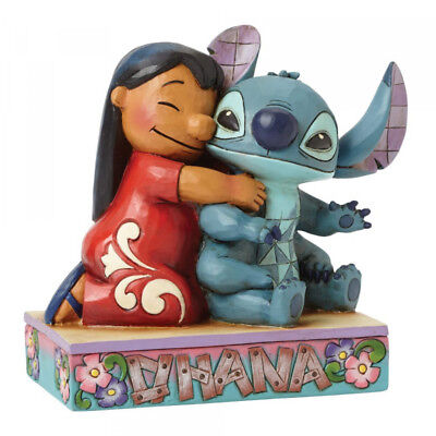 Disney Traditions Lilo & Stitch Ohana Means Family Figurine 4043643 New & Boxed