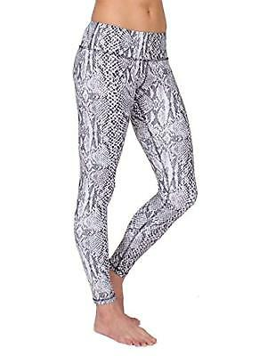 "90b5f28823688f LULULEMON FLORENCE LEGGINGS Pants 25"" Black White Floral Lace Print ..."