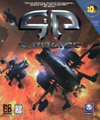 G-Police PC CD pilot police hovership futuristic helicopter purebred action game