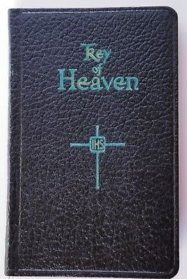 VTG Key of Heaven Prayer Book Large Print 1963 Pocket Size Excellent Cond., FS