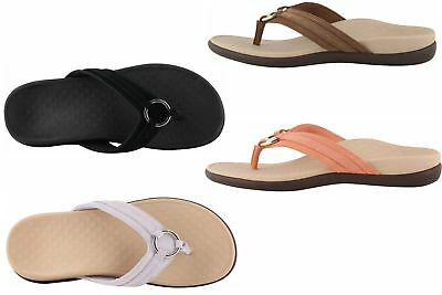 2f700b9f69 Vionic Women's Tide Aloe Toe-Post Sandal Flip- Flop with Concealed Orthotic