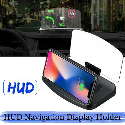 Car HUD Holder Head Up Display Projector Bracket For GPS Navigation Phone Gifts
