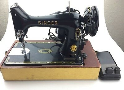 1954 Vintage Singer 99K Portable Sewing Machine