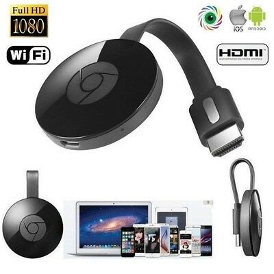1080P 2rd Generation For Chromecast 3 Digital HDMI Media Video Streamer Dongle