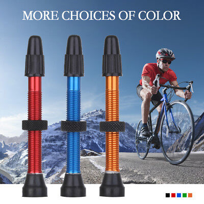 Tubeless Presta Valve Stems Tyre Accessories Extender MTB Road Bike AU Stock