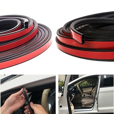 5m Rubber Seal Strip for Car Window Door Engine Cover Seal Edge Trim Noise