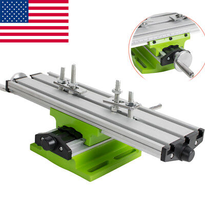 Pro 2 Axis Milling Compound Working Table Cross Sliding Bench Drill Vise Fixture