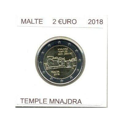 Malte 2018 2 Euro Commemorative Temple Mnajdra  Sup