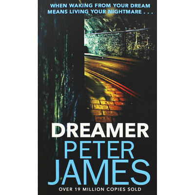 Dreamer by Peter James (Paperback), Fiction Books, Brand New