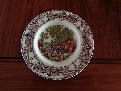 A J Wilkinson Ltd Royal Staffordshire Pottery RURAL SCENES Small Side Plate