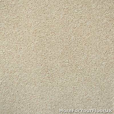 Warm Cream Liberty Heathers Twist Carpet Cheap Flecked Bedroom Felt Backing 4m