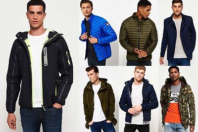 New Mens Superdry Jackets5 Selection - Various Styles & Colours 181218