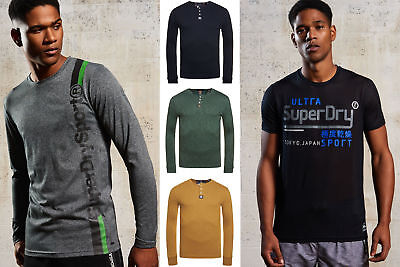 New Mens Superdry Tops Selection - Various Styles & Colours 181218