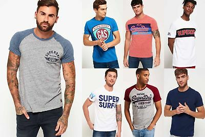 New Mens Superdry T-Shirts Selection - Various Styles & Colours 181218