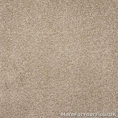 Warm Beige Liberty Heathers Twist Carpet Cheap Flecked Bedroom Felt Backing 4m