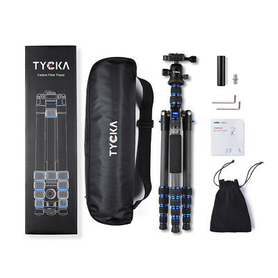"TYCKA Professional Aluminium 58"" Tripod&Ball Head Travel for Canon Camera TK108"