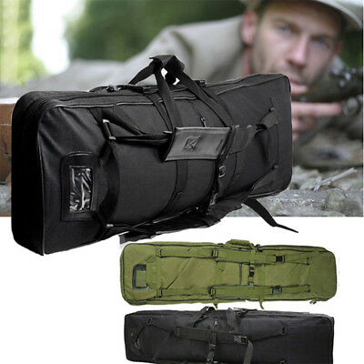 39/47 Inch Tactical Hunting Heavy Duty Gun Rifle Carry Padded Case Bag Backpack