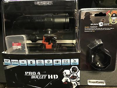 1080p HD Fire Fighter Camera Video Cam BULLETHD Pro4 Waterproof+BlackJack & 16GB