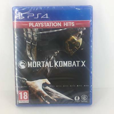 Mortal Kombat X PS4 Playstation 4 Game - New & Sealed Fast & Free Delivery