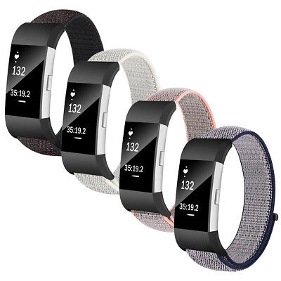 Sport Loop Band Replacement Nylon Strap for Fitbit Charge 2 Smart Fitness Watch
