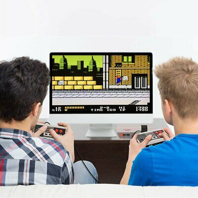 Mini TV Game Console Classic Retro 620 Games Built-in with 2 Controller For Kid