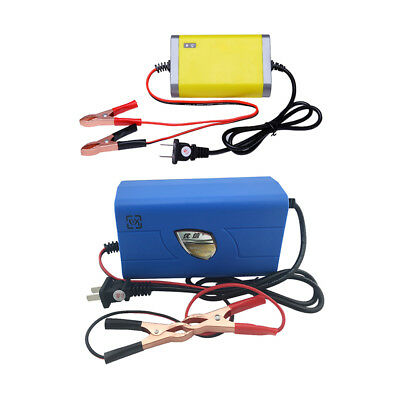 2x Waterproof 12V 2A & 6A Smart Car Battery Charger Motorcycle Dirt Bike