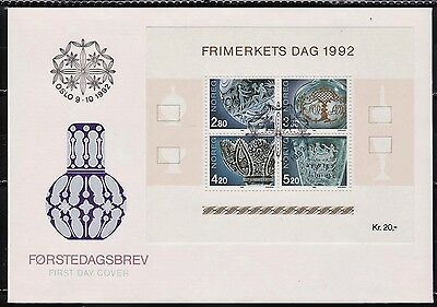 Sheet Mint Mnh Europe Fine Norway 1992 Sg Ms11452 Stamp Day Norway