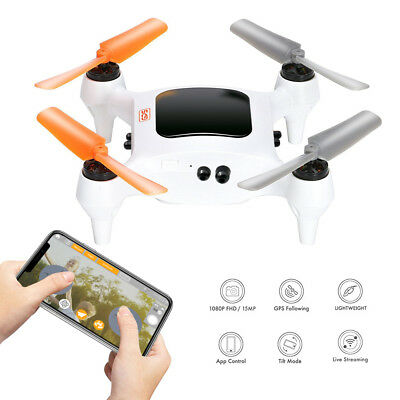ONAGOFLY 1 PLUS Smart Nano Drone Smartphone Controlled Wifi Used