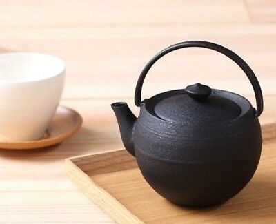 Tetsubin Japanese Cast Iron tea pot Tea ceremony Mandaiya craft Yamagata 1400ml
