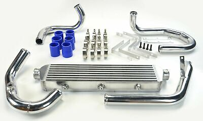 Fmic For Vw Golf Jetta Mk4 Audi A3 A4 A6 Tt 1.8T Turbo Intercooler Kit Blue